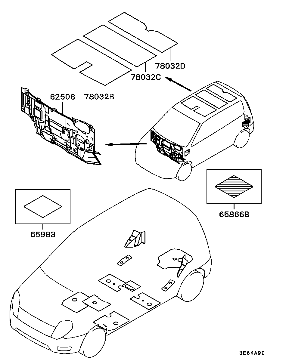 Mitsubishi mirage dingo схемы
